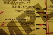 A Republican candidates unfortunate name