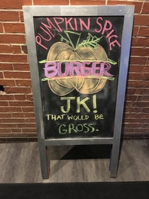 A restaurant in Maine gets it