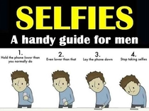 A selfie guide for men