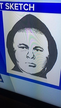 A suspect sketch on the news looks exactly like Bobby Hill