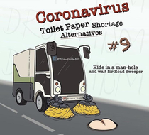 A take on a solution for the toilet paper shortage