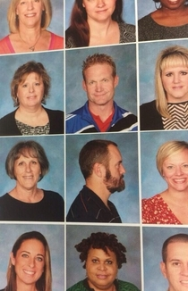 A teacher from my alma mater paid tribute to Drake in this years year book