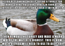 A Thanksgiving PSA Because no one wants to call  for something that couldve easily been prevented