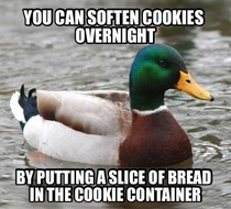 A tip for all you soft cookie lovers this holiday season