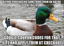 A tip for online shoppers Ive saved so much money and most sites offer this option
