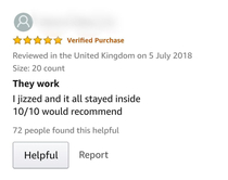 A very informative review when buying condoms