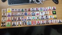 A work colleague left his passport pictures lying about in work We may have modified them slightly