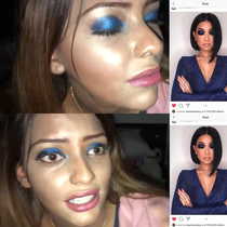 A YouTuber went to the best reviewed makeup artist in Dubai and heres the result