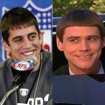 Aaron Rodgers fresh out of college looking like Lloyd from Dumb amp Dumber x-post rnfl