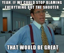 About all these mass shootings