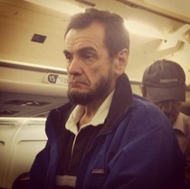 Abraham Lincoln spotted casually taking a plane ride in Morocco