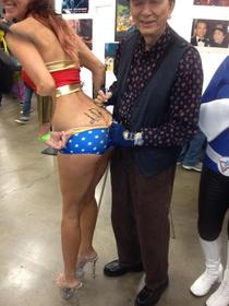 Actor James Hong signed my ass yesterday at Comic Con in Austin