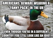 ACTUAL Advice for Americans going to the UK with Fanny Packs
