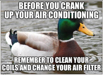 Actual advice from your friendly neighborhood maintenance guy