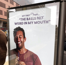 Ad for bubble tea in Sydney