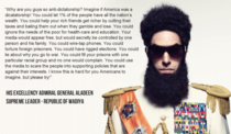 Admiral-General Aladeen nails it