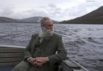 Adrian Shine the leader of the Loch Ness Project looks exactly like how I imagined the leader of the Loch Ness Project looks like