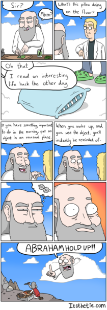 Adventures of God Life Hack