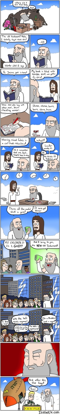 Adventures of God the New Old Testament