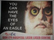 Advertisement in todays newspaper