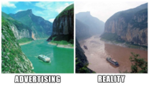 Advertising vs Reality