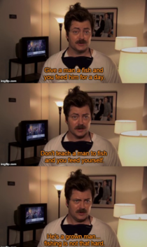 Advice  by Ron Swanson