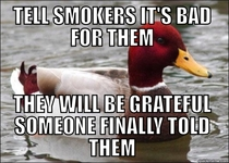 Advice for non smokers