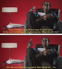 Advice from  Chainz