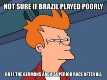 After Brazil loss so MASSIVELY
