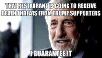 After hearing that a DC restaurant was going to exclude Donald Trump from their presidential mural