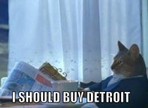 After learning the City of Detroit was filing for bankruptcy and could potentially go through a fire sale of city assets to settle their debts