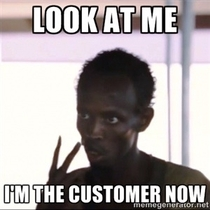 After quitting my retail job I sometime see old coworkers while Im shopping