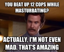 After reading about Oregon man high on meth who beat up  cops while masturbating in a bar