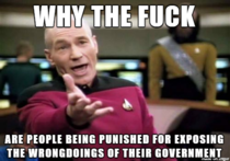 After reading about the Australian Whistleblowers sentencing