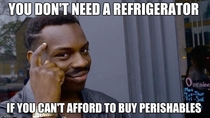 After reading Fox News  of poor people own a refrigerator I must agree with them