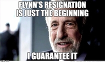 After reading that Flynn has resigned