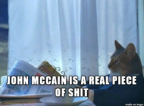 After reading that John McCain thinks Obama is directly responsible for the attack in Orlando
