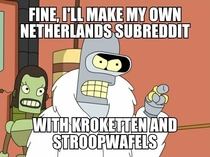 After rnetherlands got shut down and the community moved to rthenetherlands user urensch created this epic meme