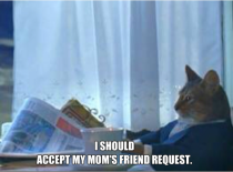 After seeing all the heartwarming posts to peoples mothers on facebook