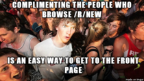 After spending too much time on reddit today I learned