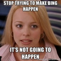 After watching a few Bing v Google commercials