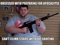 After watching an episode of Doomsday Preppers