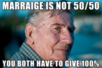 After  years of marraige I submit my own Marraige Advice Grandad