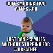 After  years of smoking