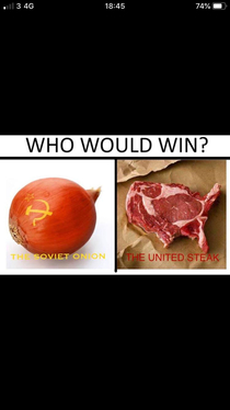 Ah yes the cold cuts war