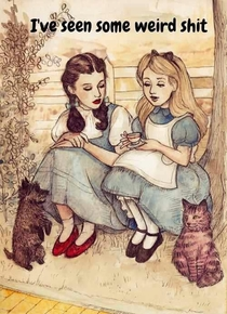 Alice Bonds with Dorothy