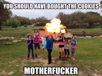 All I could think of after seeing the Girl Scouts pic