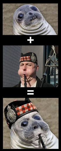 All my life I wanted to play the bagpipes