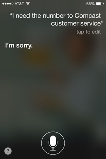 All Siri said