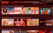 Almost every Netflix category is a John Stamos reference for April Fools Day